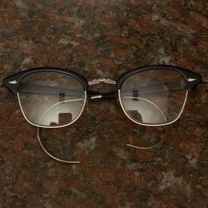 Vintage Bausch & Lomb 22 Horn Rimmed Glasses